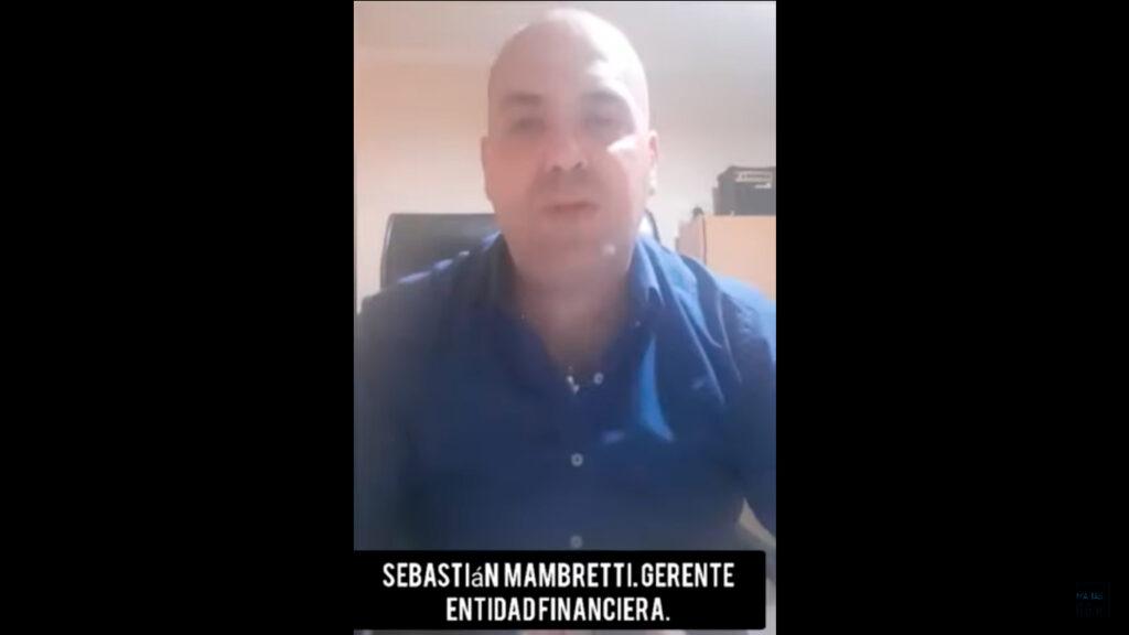 Sebastian Mambretti – Gerente de Entidad Financiera